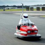 Nuevo récord Guinness a un 'coche de choque' que alcanza más de 160 km/h