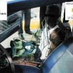 Un hombre intenta cruzar la frontera en Melilla disfrazado de asiento del coche