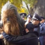 Chewbacca, detenido en Ucrania por negarse a identificarse