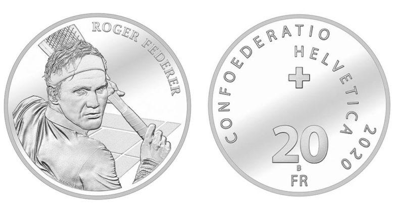 Roger Federer, primera persona viva que saldrá en monedas conmemorativas suizas